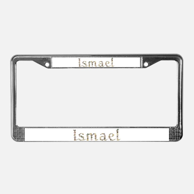 Ismael Seashells License Plate Frame
