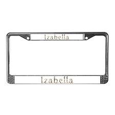 Izabella Seashells License Plate Frame