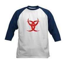 Red Triple Crescent Tee