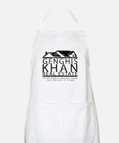 Genghis Kahn Real Estate BBQ Apron