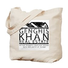 Genghis Kahn Real Estate Tote Bag