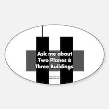 Cute 911 inside job Sticker (Oval)