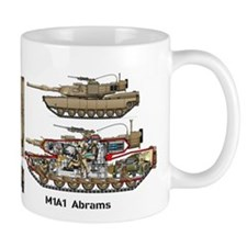 M1a1 Abrams 2nd Armored Brigade Combat Team Mugs