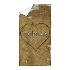 Holmes Beach Love Beach Towel