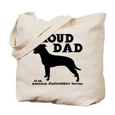AM STAFF DAD (both sides) Tote Bag