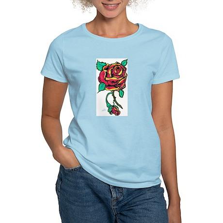 Rose Women's Light T-Shirt