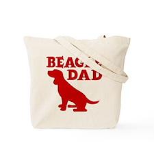 BEAGLE DAD (both sides) Tote Bag