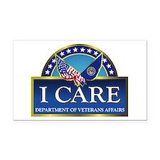 VA - I Care Rectangle Car Magnet