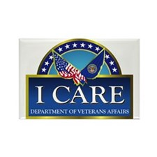 VA - I Care Rectangle Magnet (10 pack)