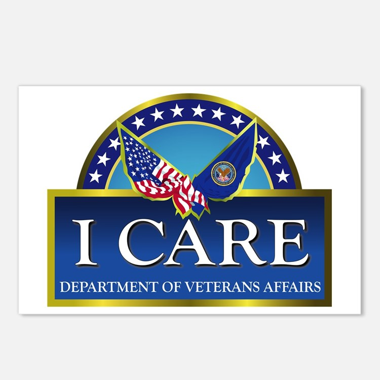 VA - I Care Postcards (Package of 8)