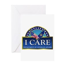 Va - I Care Card Greeting Cards