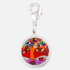 Heart Flowers - Tree of Life - Jennifer Fay Charms