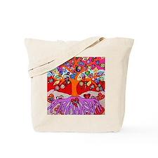 Heart Flowers - Tree of Life - Jennifer F Tote Bag