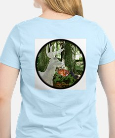Ghost Buck-Fawn-Squirrel T-Shirt