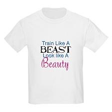 Train Like A Beast Look Like A Beau T-Shirt