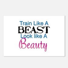 Train Like A Beast Look L Postcards (Package of 8)