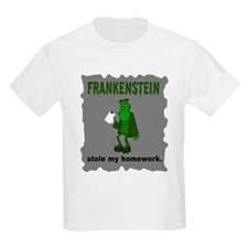 Frankenstein Stole My Homewor T-Shirt