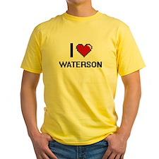 I Love Waterson T-Shirt