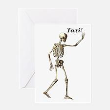 Taxi! Greeting Card