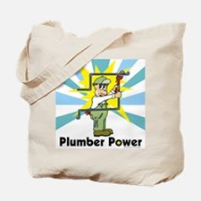 Plumber Power Tote Bag