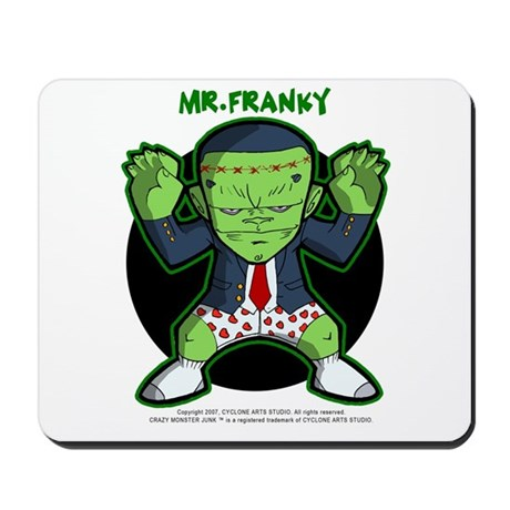 Mr. FRANKY Mousepad (LIMITED EDITION)