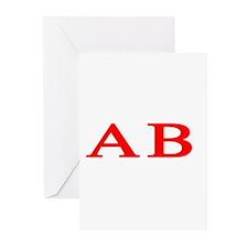 Alpha Beta Greeting Cards (Pk of 10)