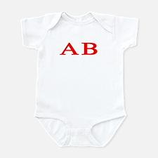 Alpha Beta Infant Bodysuit