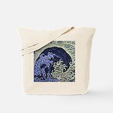 Feminine Wave by Hokusai Tote Bag