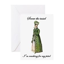 Straight Shooter Greeting Card