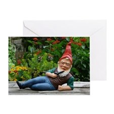 "Gnome Seduction ""Greeting"" Card"