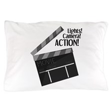 Lights Camera Action Pillow Case