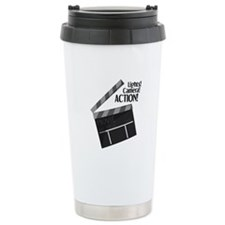 Lights Camera Action Travel Mug