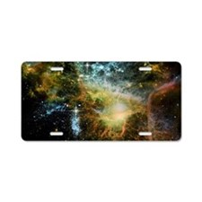 Awesome universe Aluminum License Plate