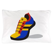 Running Sneakers Pillow Case