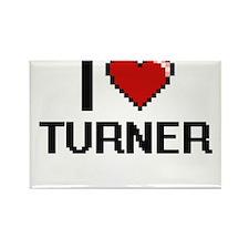 I Love Turner Magnets
