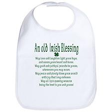 Old irish Blessing Bib