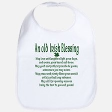 Old irish Blessing Bib