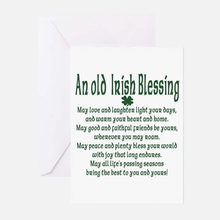 Old irish Blessing Greeting Cards (Pk of 10)