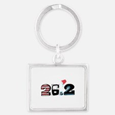 Marathon 26.2 Keychains