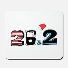 Marathon 26.2 Mousepad