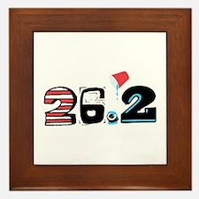 Marathon 26.2 Framed Tile