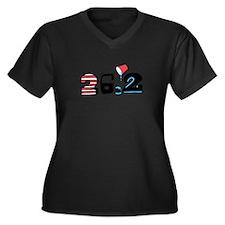 Marathon 26.2 Plus Size T-Shirt