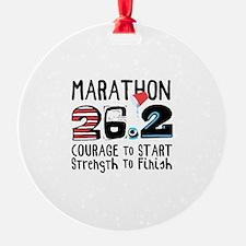 Marathon Courage Ornament