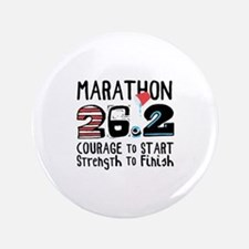 Marathon Courage Button