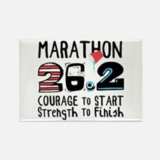 Marathon Courage Magnets