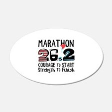 Marathon Courage Wall Decal