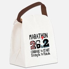 Marathon Courage Canvas Lunch Bag