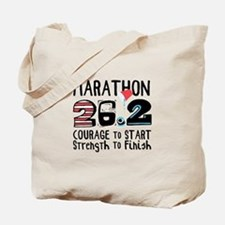 Marathon Courage Tote Bag