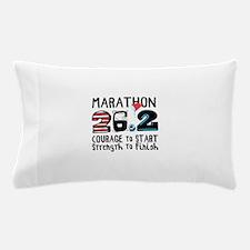 Marathon Courage Pillow Case