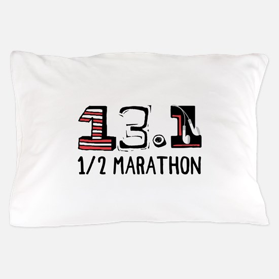 1/2 Marathon Pillow Case
